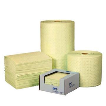 SPC 化学品MAXX吸附垫,38cm×48cm,吸附量113升,100片/箱,CH100