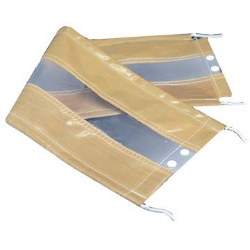 国标法兰保护罩,聚四氟乙烯,DN25,16kg压力中间透明,PTFE-2