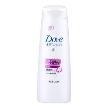 多芬日常损伤理护洗发乳,200ml  单位:瓶