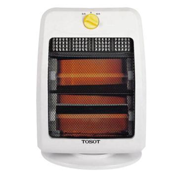 远红外电暖器(白+黑)TOSOT,格力,NSW-8,220v,800w,倾倒自动断电,2档功率可调