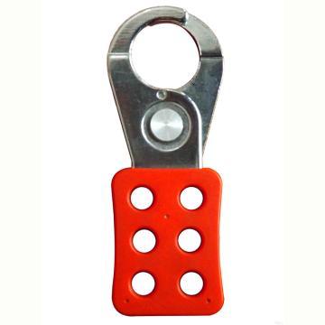 """都克 六联锁具,钢制,锁孔直径3/8""""(9.5mm),锁钩直径1.5"""",H12"""