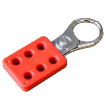 """都克 六联锁具,铝制,锁孔直径3/8""""(9.5mm),钩扣直径1"""",H15"""
