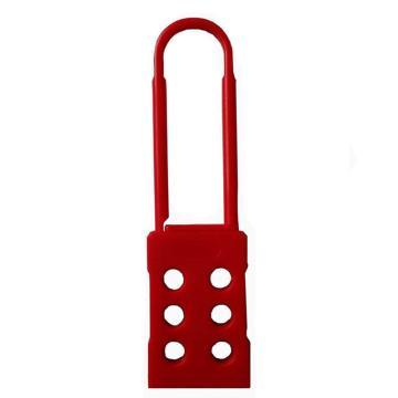 都克 绝缘六联锁具,挂锁孔径9mm,锁钩直径6mm,尼龙材质,H31