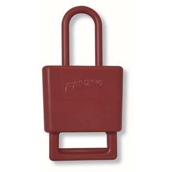 贝迪BRADY PRINZING绝缘性锁具锁钩,红色,LH220A
