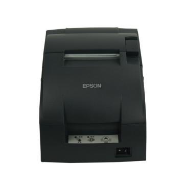 爱普生(EPSON) TM-U220PB针式小票打印机76MM带切刀 黑色 并口