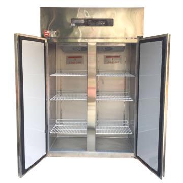 华东 防爆不锈钢对开门风冷冷冻冰箱BLL-1200L,0~-18度,容积1200L,220V,防爆等级Exd mb IICT4 Gb