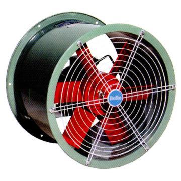 洲洲 SFG型耐高温防油防潮轴流通风机(管道式),SFG3-4,0.12KW/380V, 2米线