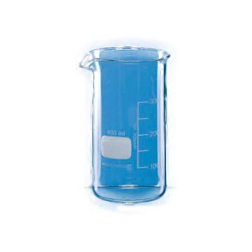 BRAND烧杯,高型,400ml,有刻度,10个/包