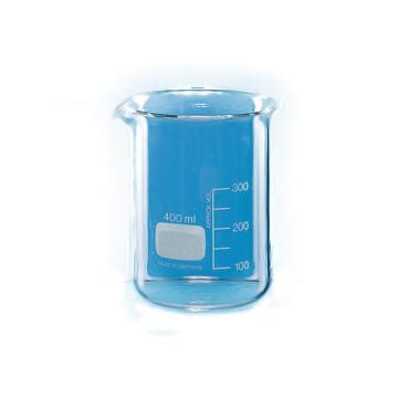BRAND烧杯,低型,400ml,有刻度,10个/包