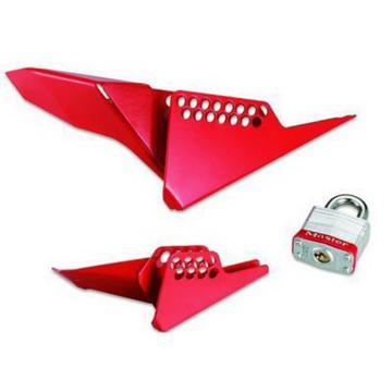 Master Lock 楔形球阀锁具,小号,S3476LZH