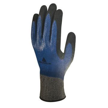 代爾塔DELTAPLUS 5級防割手套,202017-9,TAEKI系列3/4丁腈涂層防切割手套