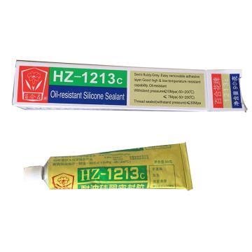百合花 耐油硅酮密封膠,HZ-1213C,90g/支