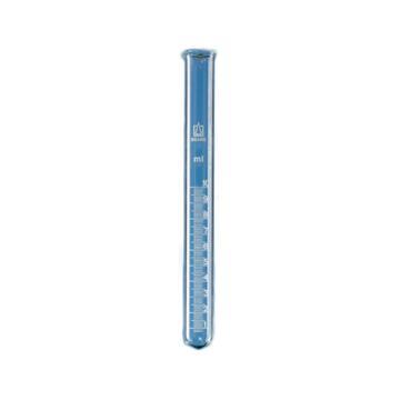 BRAND刻度试管,PP管塞,20:0,2ml,14/23,17*200mm,DURAN®,10个/包