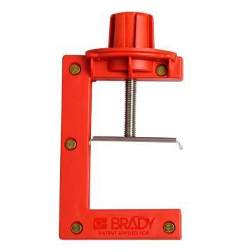 BRADY蝶阀锁具,大号(适合阀门手柄厚度50.8~102mm)121505
