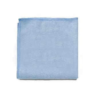 樂柏美Rubbermaid玻璃/鏡面專門抹布,Q63000藍色,單位:塊