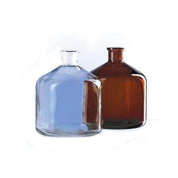 BRAND 大玻璃试剂瓶,棕色,2000ml,无盖,瓶口规格 29/32