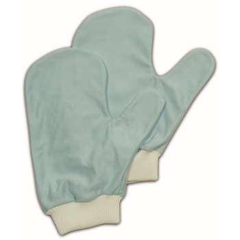 玻璃/镜面专用清洁手套,蓝色