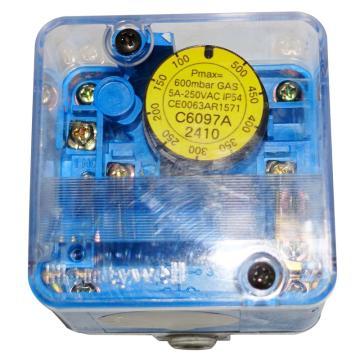 Honeywell 燃气空气压力开关,C6097A2410