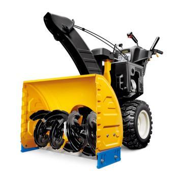 马哈MAHA手推式扬雪机,手启动+电启动 汽油 MS 9/700 功率9.3匹 清洁宽度762mm