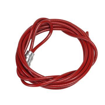 """贝迪BRADY PRINZING经济型缆锁配件-10""""缆绳,CABLE-10FT"""