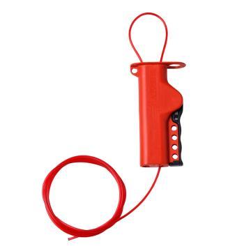 """贝迪BRADY 万用缆锁,带8""""尼龙缆绳,50941"""