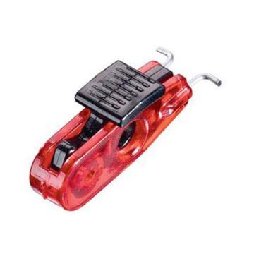 Master Lock 迷你型空气断路器停工锁,外扣,标准拴扣,S2390
