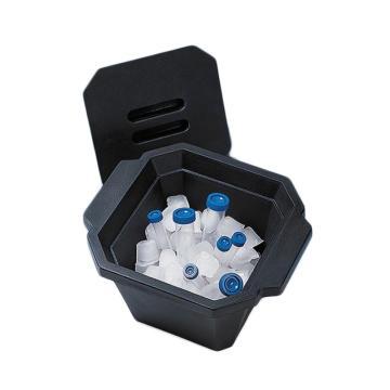 BRAND带盖冰盒,PU-foam(聚氨酯泡沫)材质,可堆叠,4.5 l