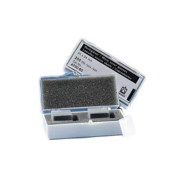 BRAND盖玻片,厚度1号 24*40mm长方形,1000个/箱