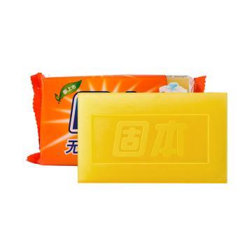 上海制皂 固本无磷超效洗衣皂,208g 老肥皂 柠檬香型 透明皂 单位:块