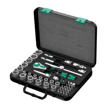 wera 维拉 套筒组套,43件套含棘轮扳手,05003594001