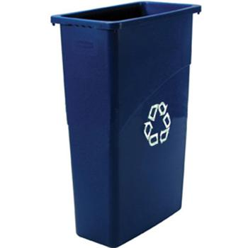 樂柏美Rubbermaid環保分類垃圾桶,BLUE 354007