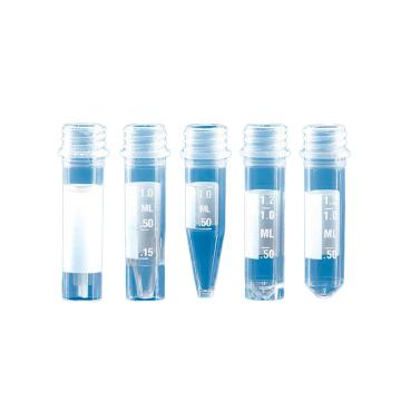 BRAND微量储存管(PP材质),适合于散装旋盖(PP材质),1.5ml,圆底,1000个/箱