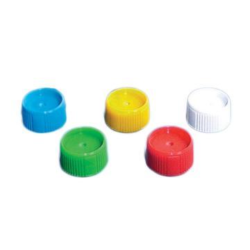 BRAND旋盖(PP材质),适用于散装微量储存管(PP材质),黄色,1000个/箱
