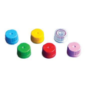 BRAND显启旋盖(PP材质),适用于带有显启旋盖的微量储存管,蓝色,1000个/箱