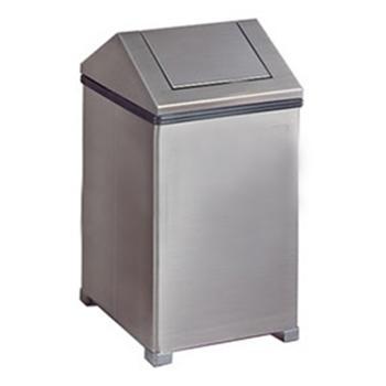 金属尖顶摇盖垃圾桶