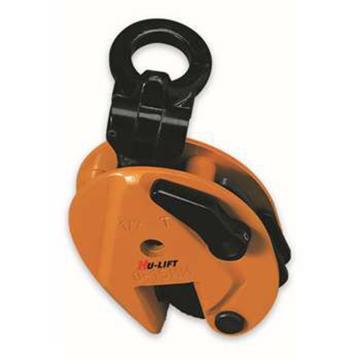 虎力 钢板吊夹,额载:500kg,适用钢板厚度:0-15mm