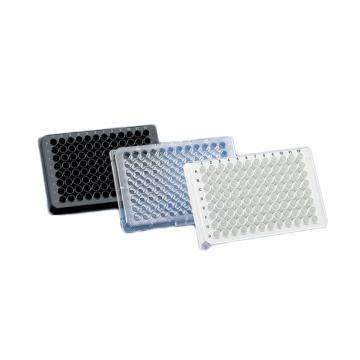 BRANDplates® 微孔板,96孔,pureGrade™,PS材质,透明,F形底,未灭菌,100个/包