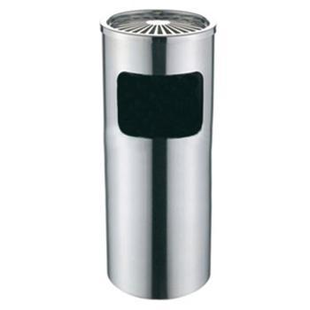 圆形不锈钢垃圾桶,24.5*60cm