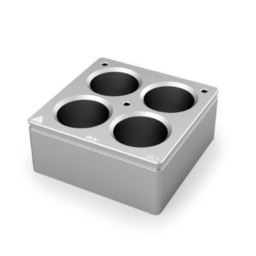 加热套,艾卡,H135.105,4孔加热套,每孔容量:30ml,孔径:28.5 mm