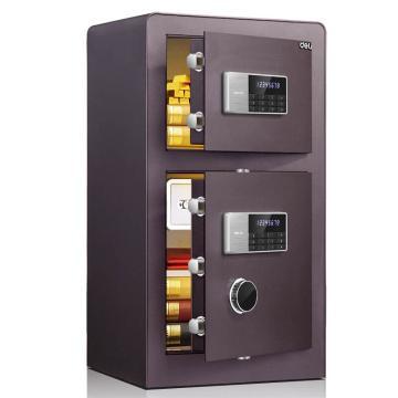 得力 电子密码保管箱(酒红), H800xW430xD380mm 4081