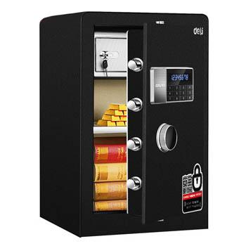 得力 电子密码保管箱(黑色) ,H600xW380xD360mm 4079B