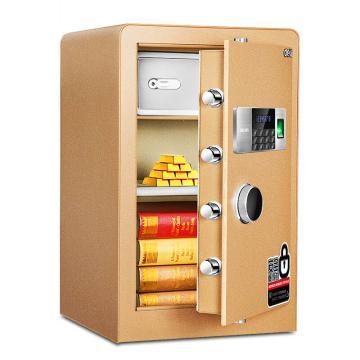 得力 电子密码保管箱(金色) ,H450xW380xD320mm 4078B