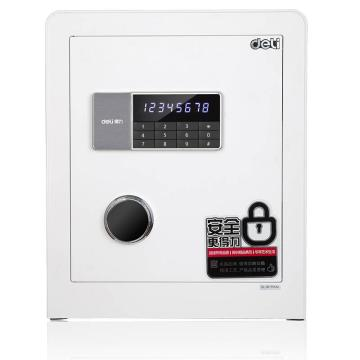 得力 电子密码保管箱(白色), H450xW380xD320mm 4078A