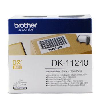 兄弟 DK色带,102*51mm白底/黑字(纸质600张) 单位:盒