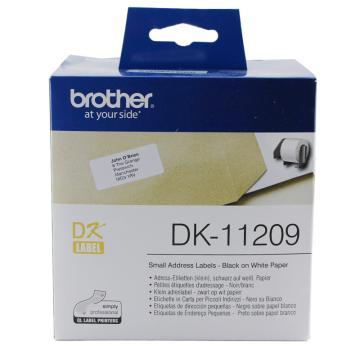 兄弟 DK色帶,29mm*62mm白底/黑字(紙質800張) 單位:盒