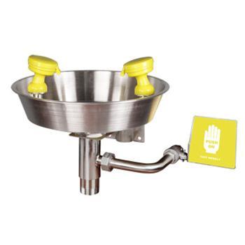 西斯贝尔SYSBEL 不锈钢壁挂式洗眼器,304SS水盆,WG7023