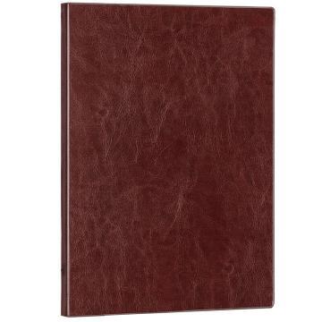得力(deli)商务办公16K记事皮面本,日记本 笔记本 3185 棕色 单位:本