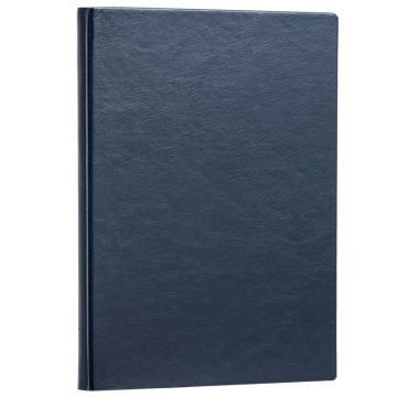 得力(deli)3185 商务办公16K记事皮面本 日记本 笔记本 蓝色