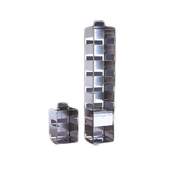 NALGENE垂直冻存盒架,不锈钢,搁板数4