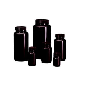HDPE棕色广口瓶,125ml